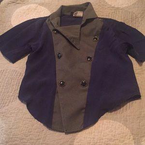 Vintage boys dress shirt